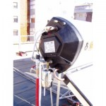 Pannello SOLARHART 302K da litri 300 su tetto piano (collegamenti idraulici)
