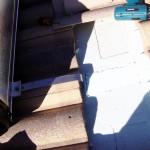 Fissaggio staffe serbatoio (2ª fase)