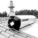 Pannello SOLARHART 302L da litri 300 su falda (collegamenti)