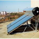 Pannello SOLARHART su tetto piano
