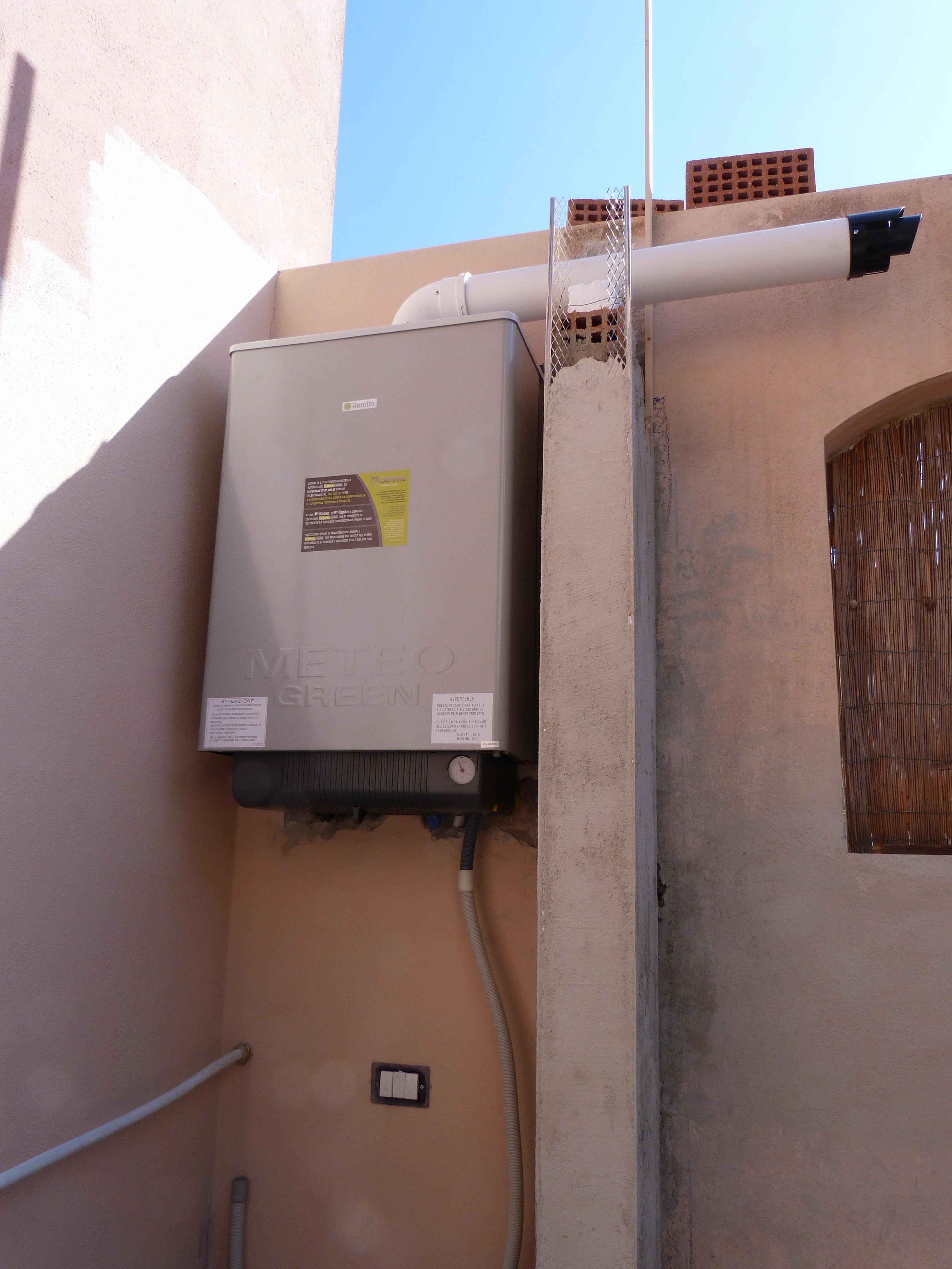Riscaldamento il portale solare di olivari impianti - Riscaldamento per esterno ...