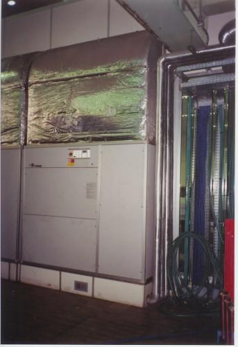 impianto di condizionamento per centro elaborazione dati