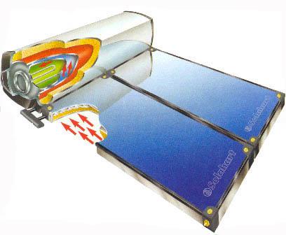 Solare termico il portale solare di olivari impianti for Serbatoio di acqua calda in rame